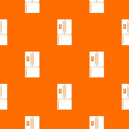 Fridge pattern vector orange for any web design best