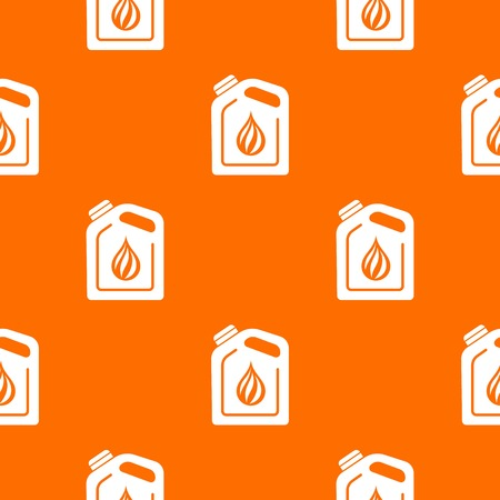 Canister oil pattern vector orange for any web design best