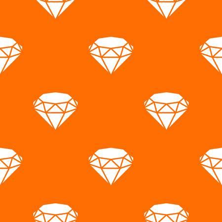 Diamond pattern vector orange Ilustrace