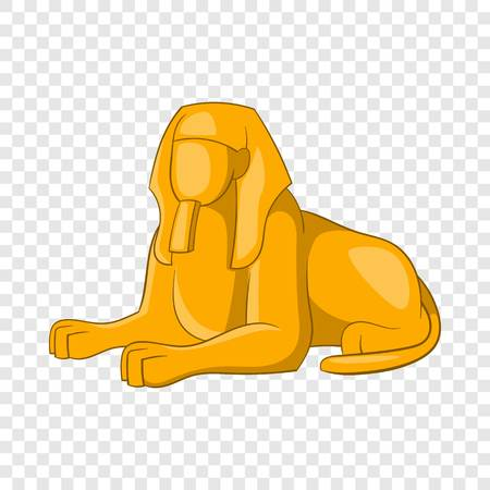 Sphinx icon. Cartoon illustration of sphinx vector icon for web design