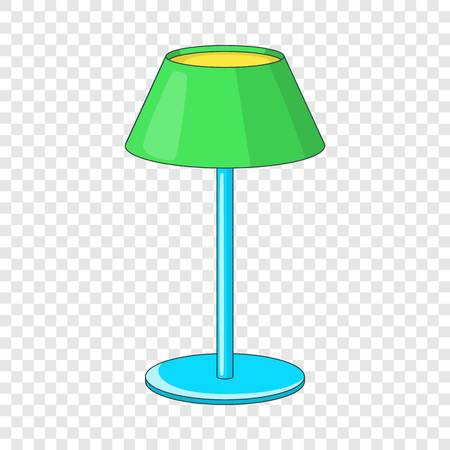 Floor lamp icon icon, cartoon style Illustration