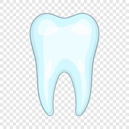 Tooth icon, cartoon style Banco de Imagens - 122550606