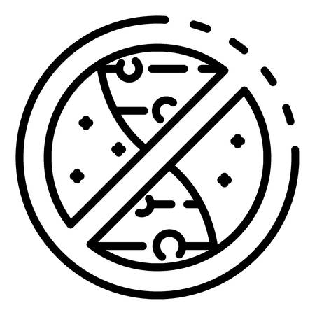 No genetic experimentation icon, outline style Illustration