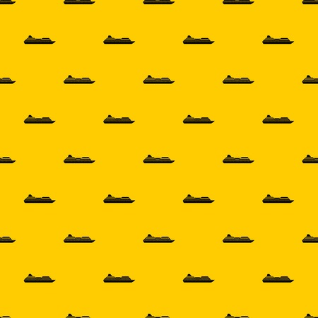 Cruise liner pattern vector