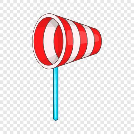 Supplies wind sock icon, cartoon style Banque d'images - 122491428
