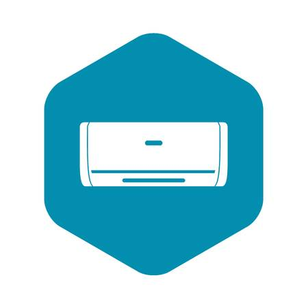 Internal unit air conditioner icon. Simple illustration of internal unit air conditioner vector icon for web 向量圖像