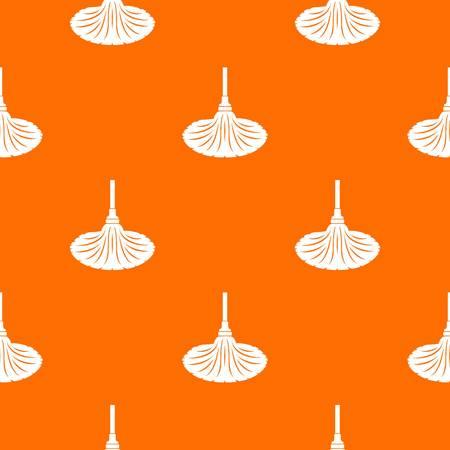 Sweeping pattern vector orange Illustration