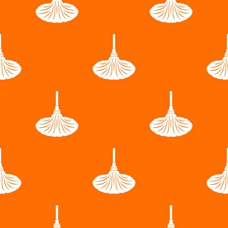 Sweeping pattern vector orange Иллюстрация