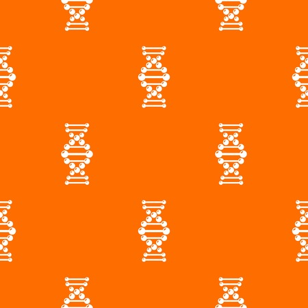 Dna pattern vector orange for any web design best Imagens - 130239203