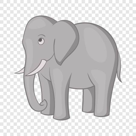 Elephant icon, cartoon style Standard-Bild - 123419488