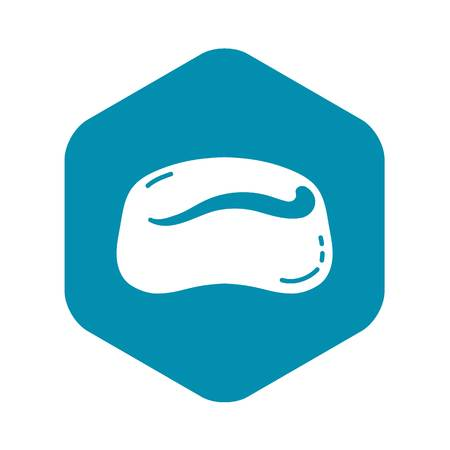 Jelly icon, simple style