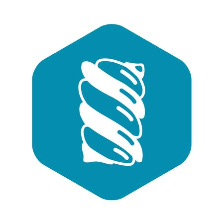 Swirl candy stick icon. Simple illustration of swirl candy stick vector icon for web design isolated on white background Illustration