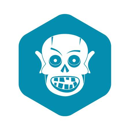 Living dead icon. Simple illustration of living dead vector icon for web