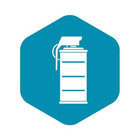 Stun grenade icon. Simple illustration of stun grenade vector icon for web