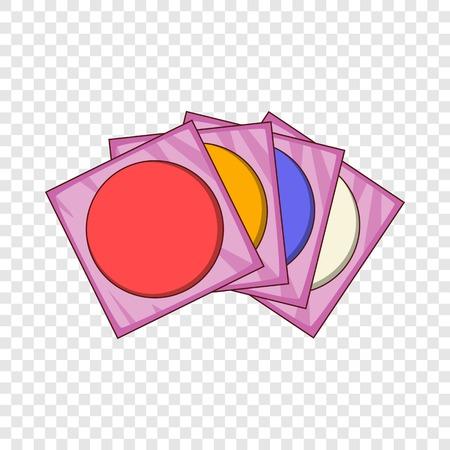 CD icon, cartoon style