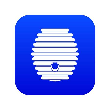 Beehive icon digital blue