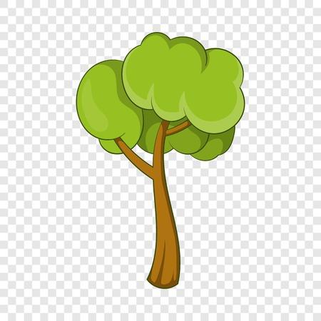Small tree icon. Cartoon illustration of small tree vector icon for web Illusztráció