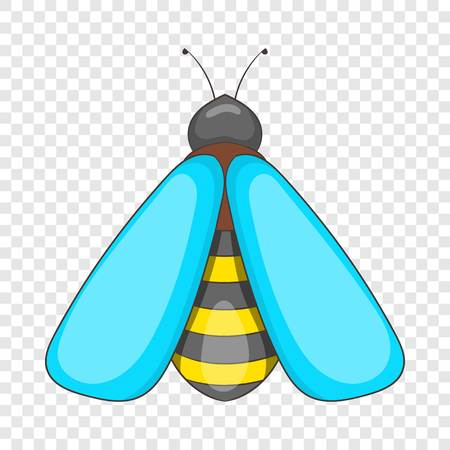 Bee icon. Cartoon illustration of bee vector icon for web design