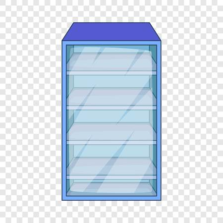 Fridge icon. Cartoon illustration of fridge vector icon for web design Illustration