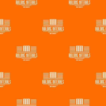 Best quality pattern vector orange