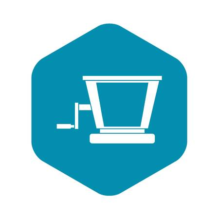 Old grape juicer icon. Simple illustration of old grape juicer vector icon for web 일러스트