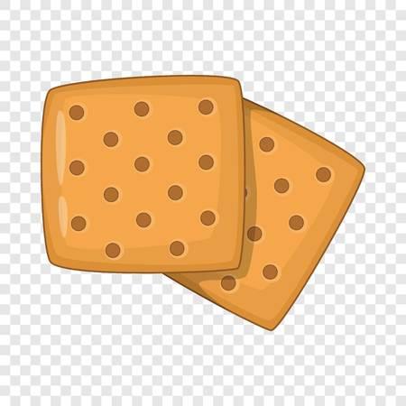 Cracker icon. Cartoon illustration of cracker vector icon for web design