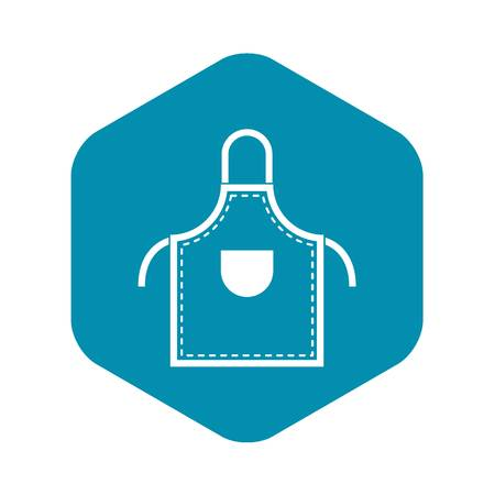 Welding apron icon in simple style isolated vector illustration