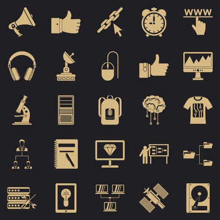 Education icons set. Simple set of 25 education vector icons for web for any design