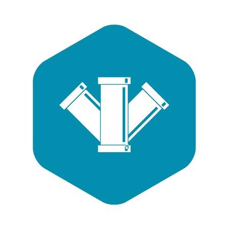 Icône d'assainissement. Illustration simple de l'icône de vecteur d'égout pour le web