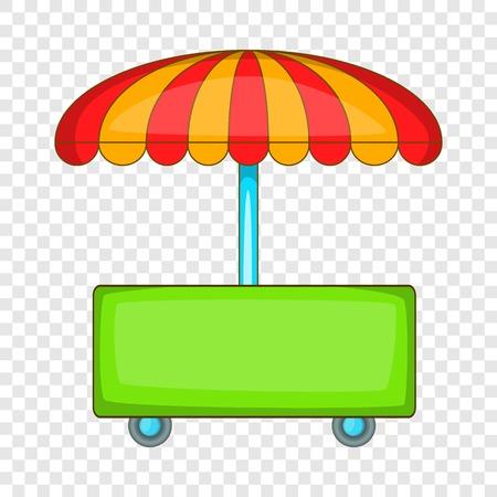 Wheel shop icon, cartoon style