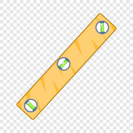 Level measurement icon. Cartoon illustration of level measurement vector icon for web design