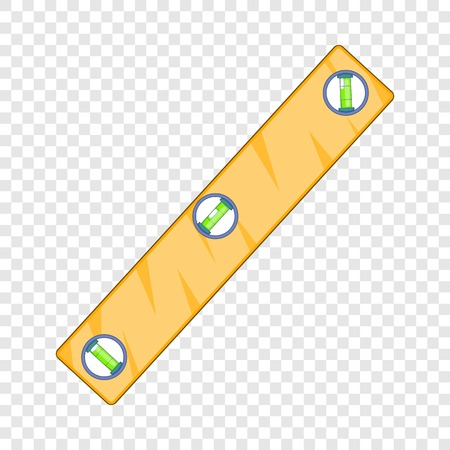 Symbol für die Füllstandmessung. Karikaturillustration des Vektorsymbols für die Füllstandmessung für Webdesign