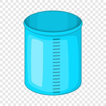 Measuring jug icon. Cartoon illustration of measuring jug vector icon for web design