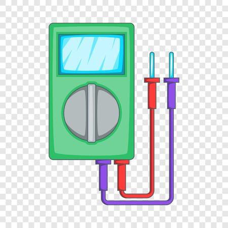 Multimeter icon. Cartoon illustration of multimeter vector icon for web design