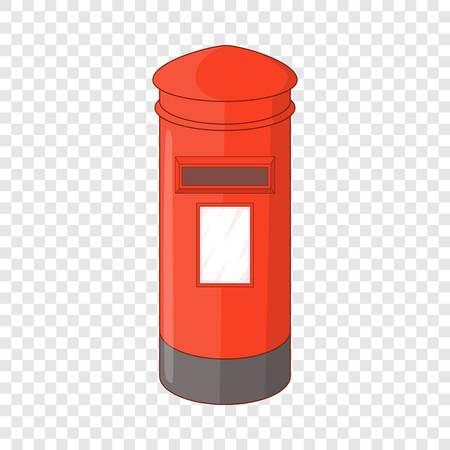 English inbox icon, cartoon style