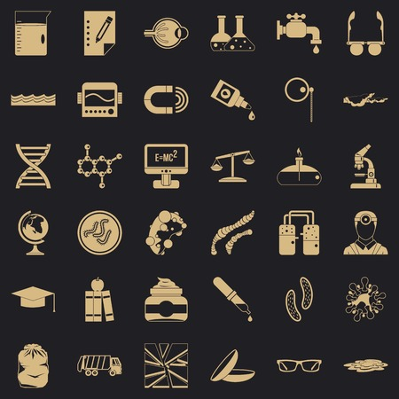 Professional tech icons set. Simple set of 36 professional tech vector icons for web for any design