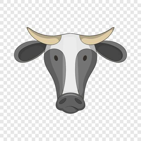 Cow icon. Cartoon illustration of cow vector icon for web design