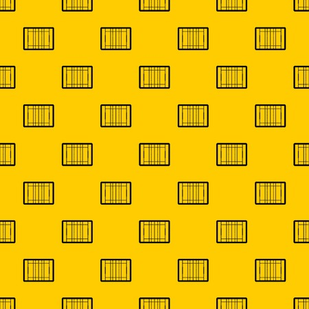 Rugby field pattern seamless vector repeat geometric yellow for any design
