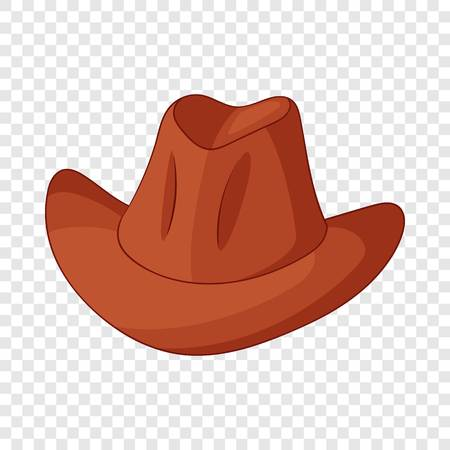 Hat icon, cartoon style