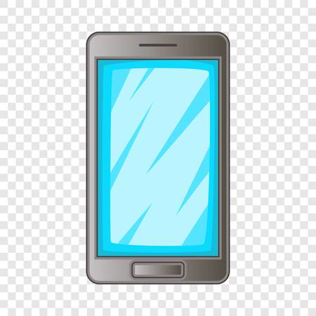 Screen protecting film for smartphone icon. Cartoon illustration of screen protecting film for smartphone vector icon for web design