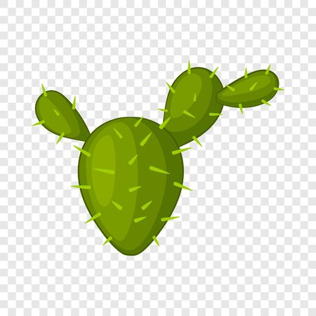 Prickly pear icon. Cartoon illustration of prickly pear vector icon for web Illustration