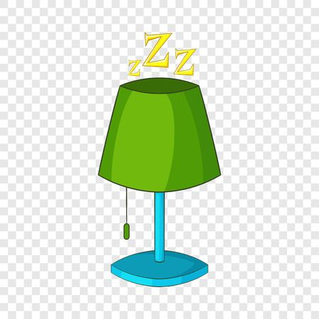 Lamp icon. Cartoon illustration of lamp vector icon for web