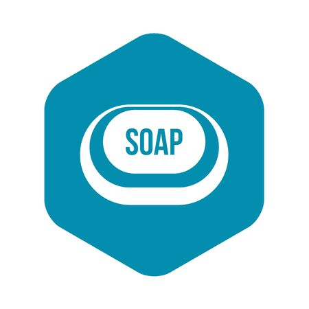 Soap icon in simple style on a white background vector illustration