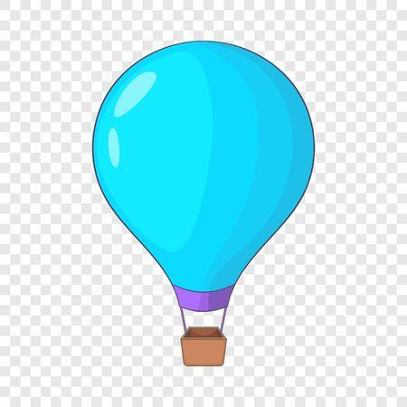 Beautiful balloon icon, cartoon style