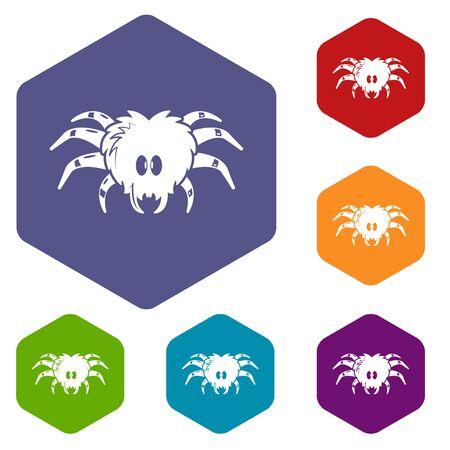 Tarantula icon. Simple illustration of tarantula vector icon for web