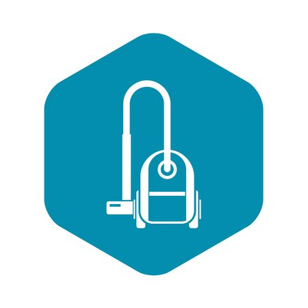Vacuum cleaner icon, simple style