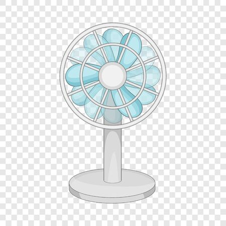 Small ventilator icon, cartoon style
