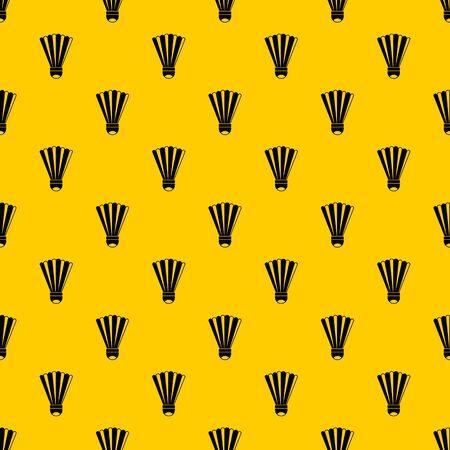 Shuttlecock pattern vector Illustration