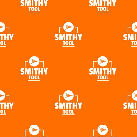 Smithy tool pattern vector orange for any web design best