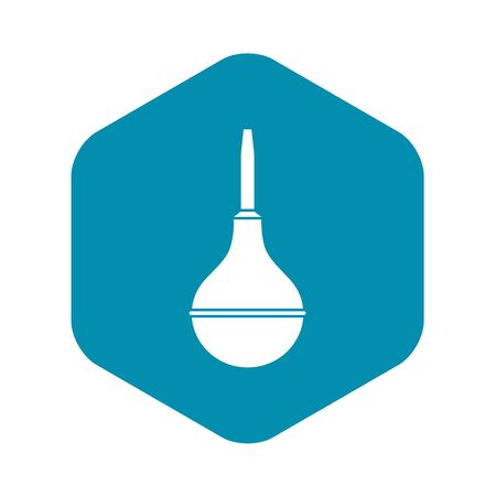 Medical pear icon, simple style Çizim